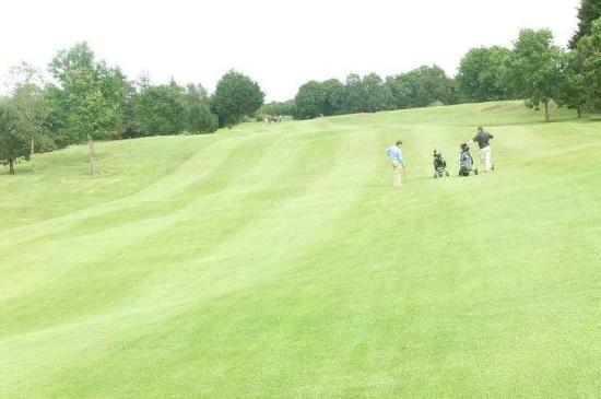 11th hole at Moate Golf Club