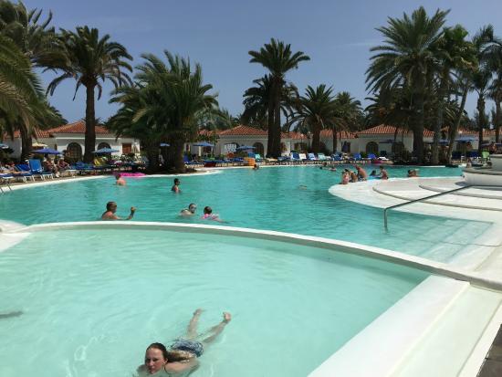 Terracita junto a piscina y comedor exterior picture of for Suite hotel jardin dorado