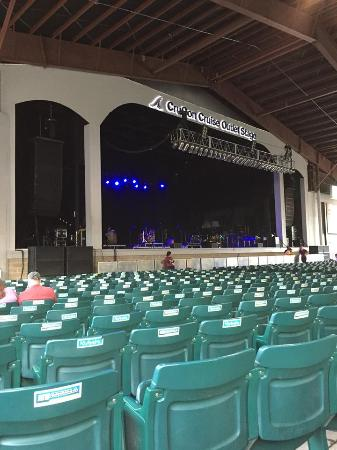 Bank Of New Hampshire Pavilion View From Section 1a Row 17 Seat 3