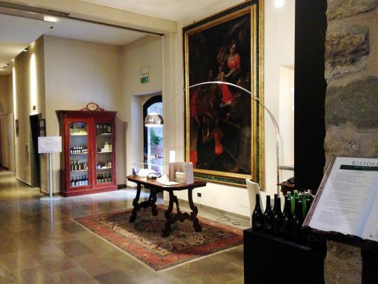 Park Hotel Ai Cappuccini: PARTICOLARE ACCESSO RISTORANTE