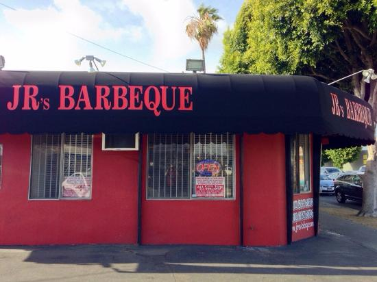 JR's Genuine Barbeque: Le restaurant
