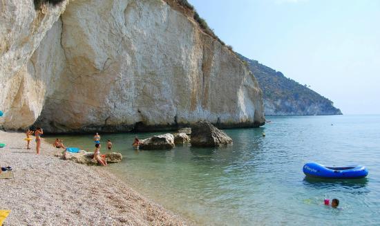 Baia di Mattinatella : Spiaggia Mattinatella