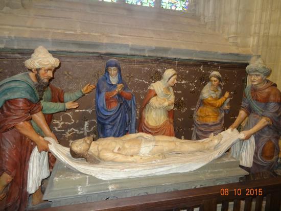 Abbaye Sainte-Croix : Descente du chris