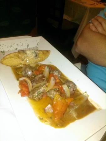 Francesco: Exquisite Peruvian food!
