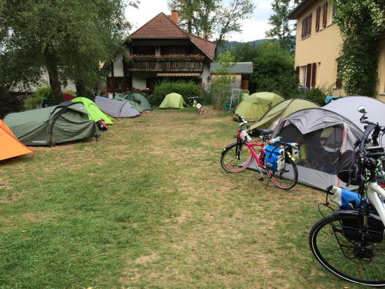 Camping am Möslepark: emplacement tente