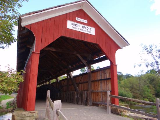 Somerset, Πενσυλβάνια: king covered bridge