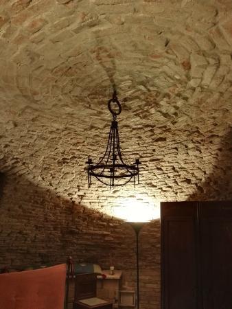 Casa Museo Palazzo Valenti Gonzaga: tetto a volta della stanza dei carbonari