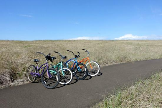 Long Beach, WA: Complimentary beach cruisers for guests