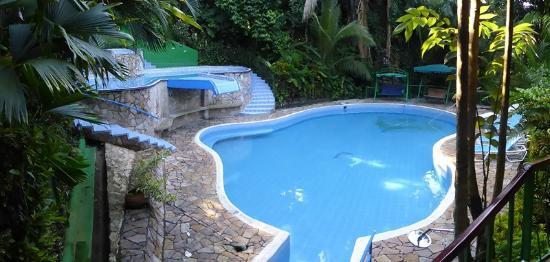 Jungle Villa: pool 2