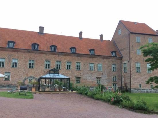 Backaskog Slott: The rear of the Manor