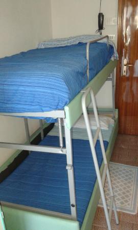 Hotel Baltic: letto a castllo
