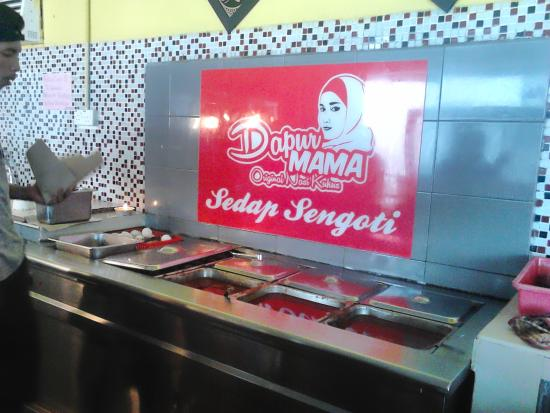 Nasi Kukus Mama Murah Marvellous The Dapur Signage