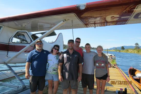 Corilair Charters: After our flight with Kurt the pilot