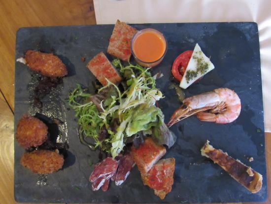 signature restaurant tapas