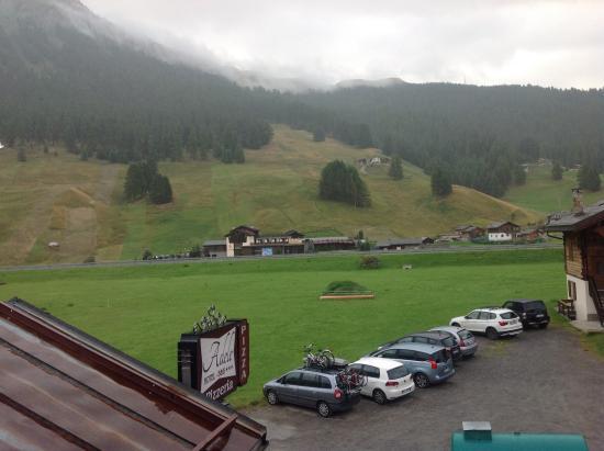 Hotel Adele: Vista dalla camera lato ingresso