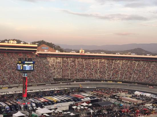 Loud And Fast Picture Of Bristol Motor Speedway