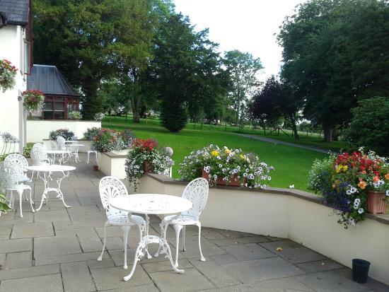 Appleby Manor Hotel & Garden Spa: View from bedroom