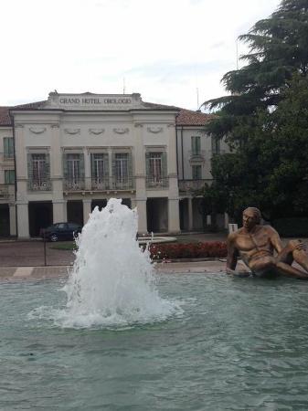 Abano Terme, Itália: Posizione ottima