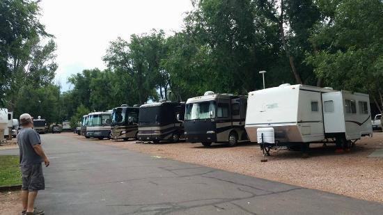 Garden of the Gods RV Resort: Our spot at Garden of the Gods RV Park