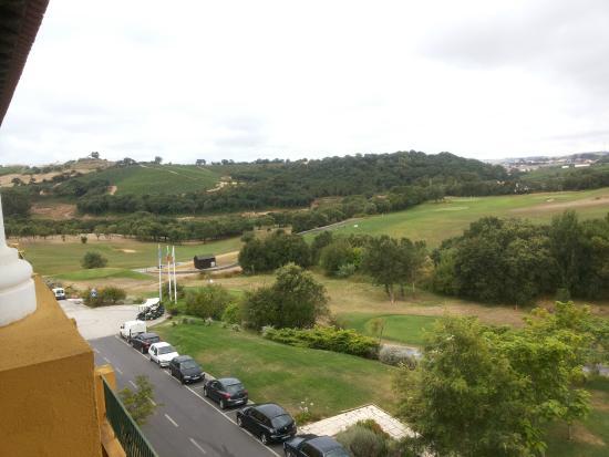 Turcifal, Portugal : vista do quarto(lado golfe)