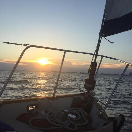 Orange Beach Sailing Charters And Sunset Cruises Picture From Just Before