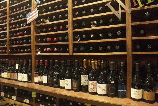 Tastes of the Valleys Wine Bar & Shop: Another view of our retail section