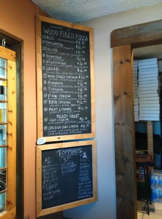 Della Rocca Pizzeria: menu
