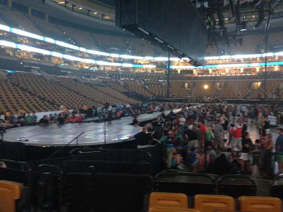 TD Garden U2 concert July 2015 Picture of TD Garden Boston