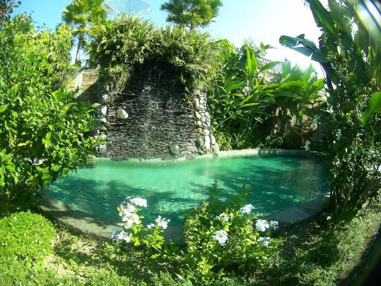 Tunjung Mas Resort Ubud: la plus petite des deux piscines.