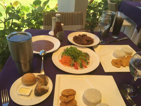 Dominican Meal - delicious