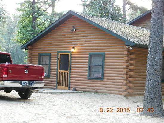 Great views great fishing picture of deer lake cabins for Fishing cabins for rent in texas