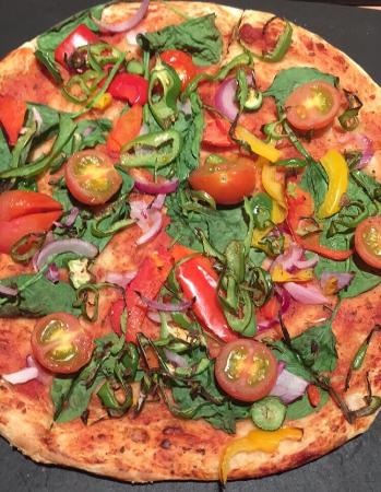 Vegan Pizza Picture Of Pizza Hut Newcastle Under Lyme