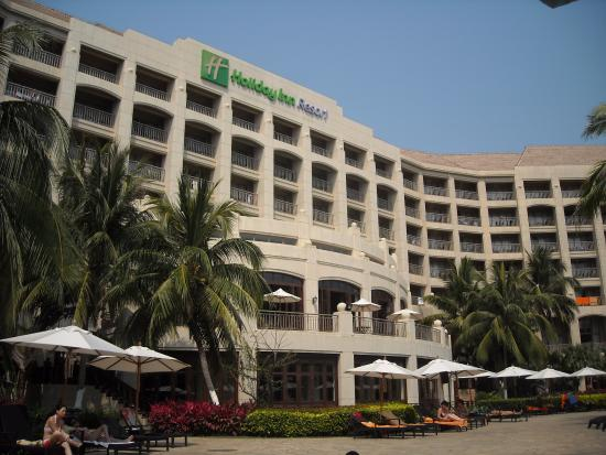 Holiday Inn Resort Sanya Bay: Территория отеля