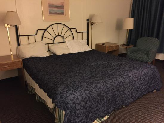 Red Roof Inn Williams: No clocks?