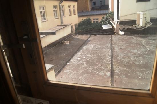 Hotel Esprit Prague: Widok z okna