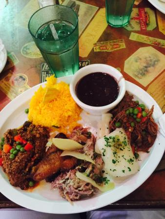The food is wonderful!! We tried both sampler platters & shared them. Best food in Key West!!