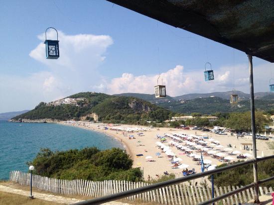 Thesprotia Region, Grecia: Bellissimo panorama dalla taverna