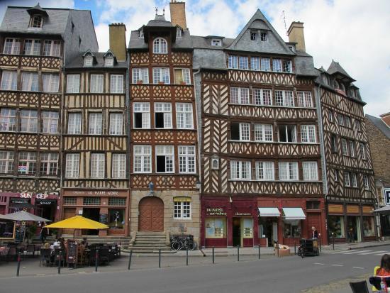 centre historique de rennes picture of centre historique. Black Bedroom Furniture Sets. Home Design Ideas