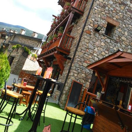 Ransol, Andorra: Terrassa Hotel Segle XX