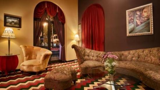 Hotel Bijou Lobby Side View