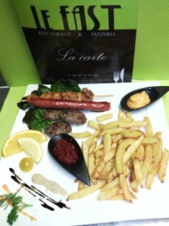 Restaurant Le Fast Rue De Courcelles Reims