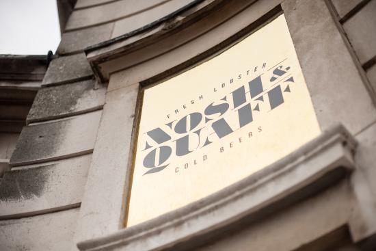 Nosh & Quaff: Nosh + Quaff Signage