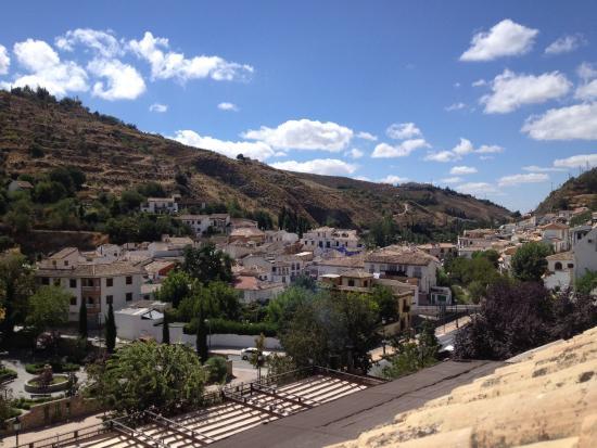 Huerta del Laurel: View from room 206