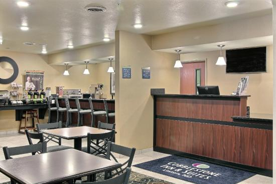 Linton, Dakota del Norte: Front Desk Areas