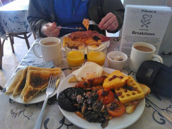 Foood!!!! - Picture of Breaktimes Cafe, Porthmadog - TripAdvisor