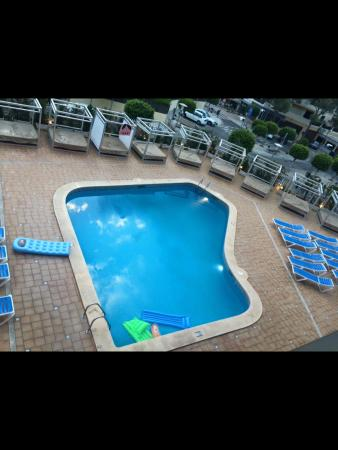Lively Magaluf Hotel: Hotel view