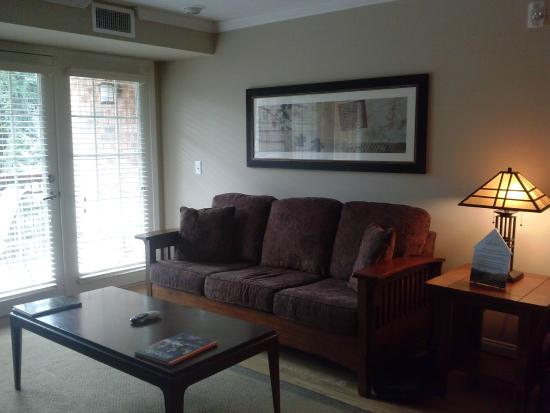 The Residences at Biltmore: Living room