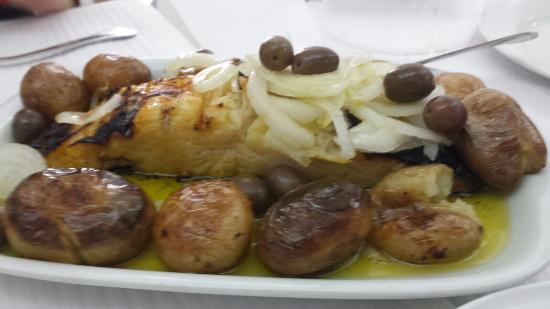 Restaurante a Nossa Casa: Arroz y bacalao