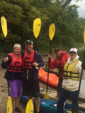 Clearwater, MN: Ready to kayak the mighty Mississippi at Clear Waters Outfitting