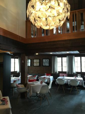 Hotel Schwarzer Bären: Inside the Restaurant, absolutely incredible food
